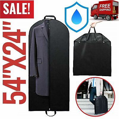Suit Storage Garment Bag Cover Dress For Hanging Clothes Carrier Protector