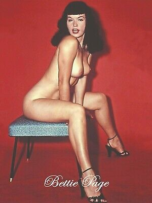 Bettie Page 8X10 Glossy Photo Hot Sexy 48