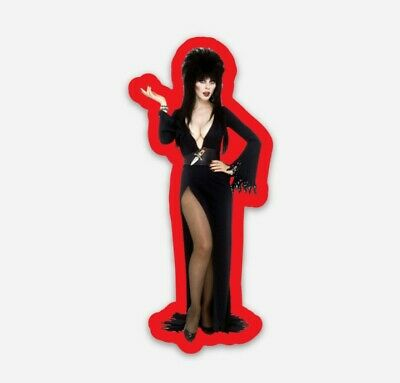 Elvira Mistress of the Dark Diecut Vinyl Sticker Decal Horror