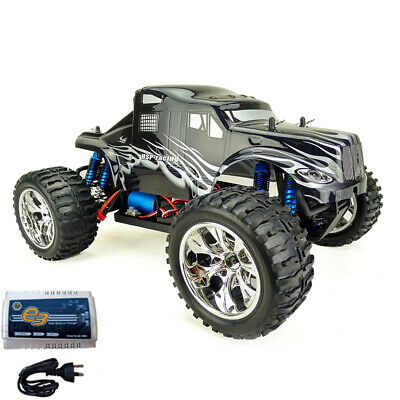 HSP 1/10 RC Remote Control Car Brushless 4WD Monster Truck Pro + Lipo Battery 88