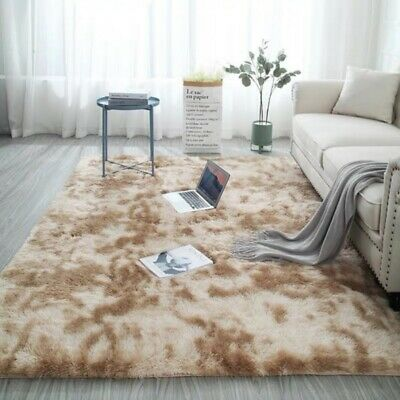 Soft Fluffy Faux Fur Sheepskin Rug Non Slip Large Floor Carpet Rugs Mat Plush