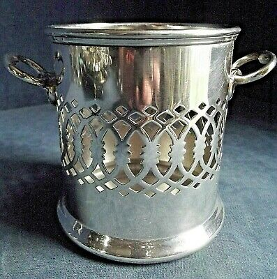 SUPERB ~ Mappin & Webb ~ SILVER PLATED ~ Bottle COASTER ~ c1920