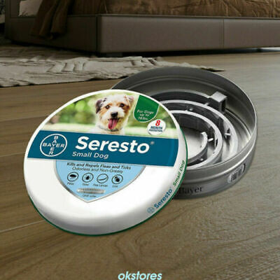 NEW Bayer Seresto² Flea and Tick Collar for Small Dogs