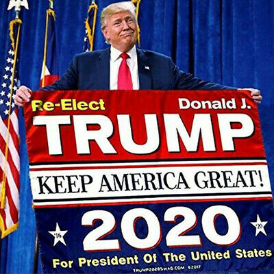 3x5 Ft Trump Flag 2020 Keep America Great Again Donald for President USA MAGA