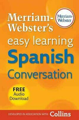 Merriam-Webster's Easy Learning Spanish Conversation 9780877795636 | Brand New