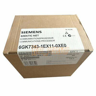 New in box 1pc Siemens  Industrial Ethernet Processor 6GK7343-1EX11-0XE0