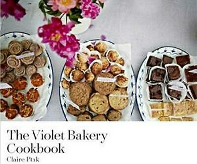 The Violet Bakery Cookbook by Claire Ptak Hardcover Book Free Shipping!