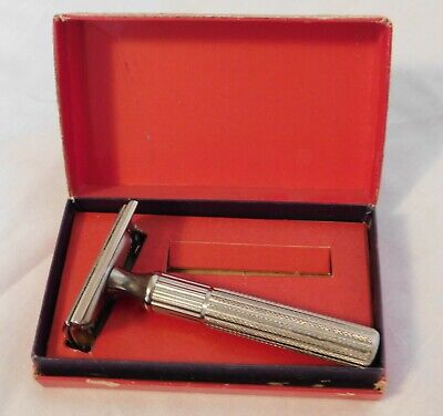 Tech Gillette Safety Razor - Original Box Patented 1932