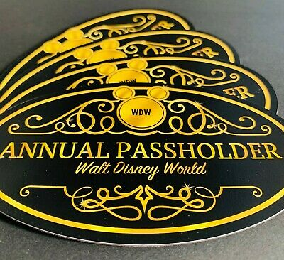 The Golden Ticket Annual Passholder Oval Car, truck, SUV, RV Fan Art Magnet