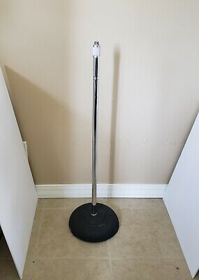 Rare Vintage 1960s University Sound Microphone Mic Stand Cast Iron Altec LTV