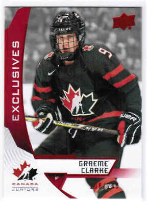 2019 UD TEAM CANADA JUNIORS/WOMEN/ALUMNI EXCLUSIVES CARDS 1-100 U-Pick From List