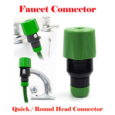 UK Universal Water Faucet Adapter Tap Connector Kitchen Garden Hose Pipe Fitting