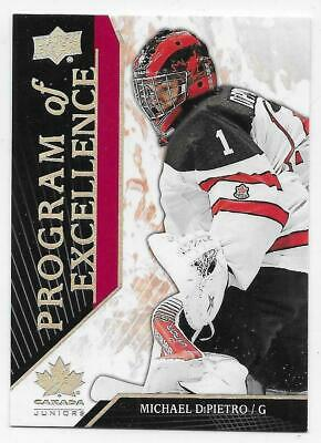 2019 UD TEAM CANADA JUNIORS PROGRAM OF EXCELLENCE CARDS 101-140 U-Pick From List