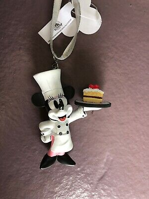 Disney Epcot Food And Wine 2019 Disney Chef Minnie Ornament