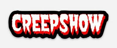 Creepshow Logo Diecut Vinyl Sticker Decal Classic Horror