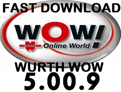 Newest Version ✔️ Wurth Wow 5.00.9 Diagnostic Garage Software✔️Snooper✔️Download