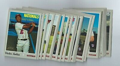 2019 Topps Heritage High Number Complete Short Print SP Set (25) Robles Ichiro
