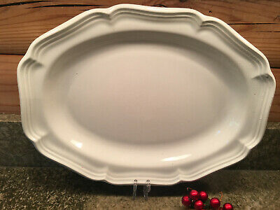"MIKASA French Countryside Ironstone,14 1/2"" Oval Platter"