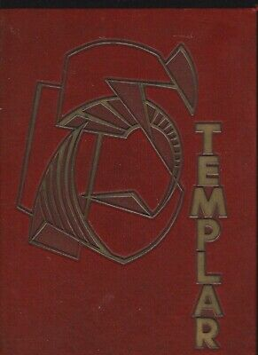 1955 Templar Temple University Senior Class Yearbook Philadelphia Pa