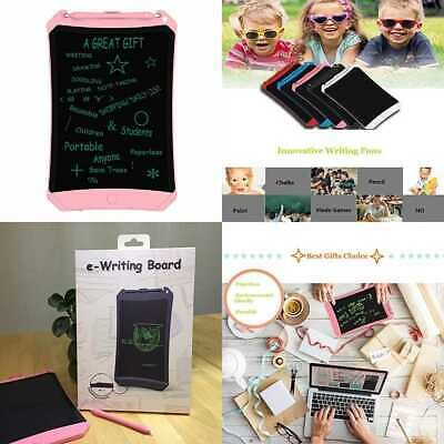 "8.5"" LCD Writing Tablet E Doodle Board Kids Electronic Graphic Drawing Portable"