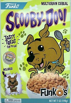 Funko Pop Scooby Doo Funko Boxlunch Exclusive Multigrain Cereal & Pocket Pop