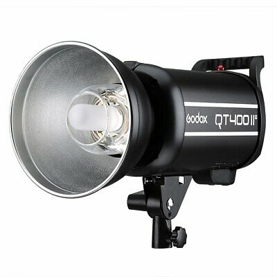 Godox QT400II 400W 1/8000s Studio Strobe Flash Lighting Lamp Bulb Head F Camera