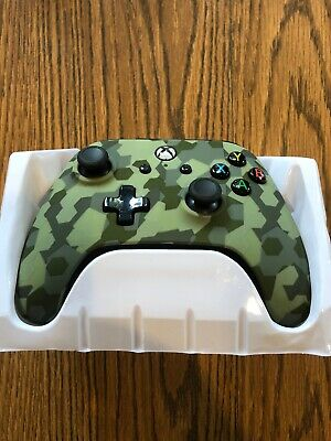 PowerA 1240364-01 Xbox One Wired Controller - Green Camo Parts Only