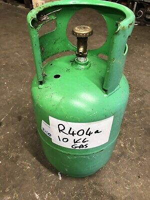 Reclaimed R404a Gas Has In Refillable Cylinder