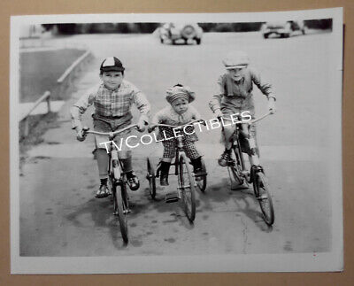 """8x10 Photo~ OUR GANG Movies ~Kendall """"Breezy"""" McComas ~Spanky McFarland"""