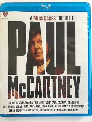 A MusiCares Tribute to Paul McCartney Blu-ray Disc New