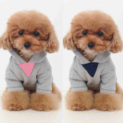 New Jacket Puppy Warm Jumper Apparel Sweater Winter Hoodie Cat Clothes Dog Pet
