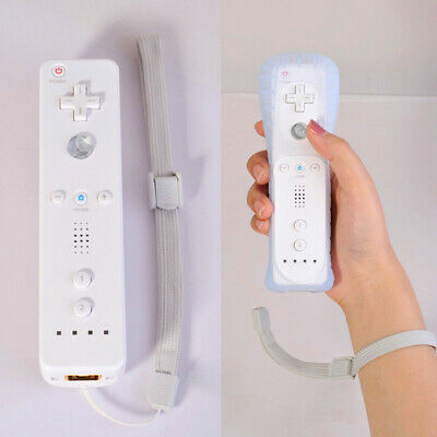 Remote Controller and Nunchuck WITH SILICONE CASE for MOTION PLUS NINTENDO WII