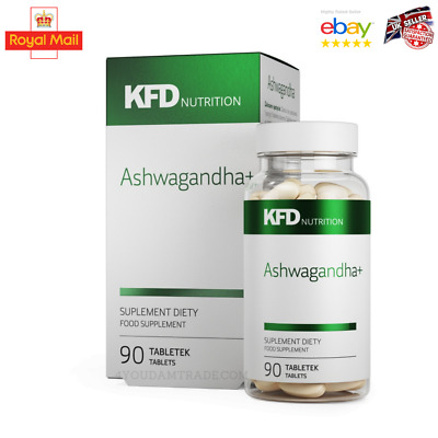 Ashwagandha Forte Capsules 90 Caps  Stress Fatigue Anxiety Relief