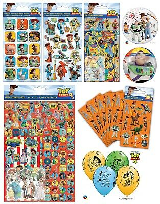 Disney Pixar TOY STORY 4 Stickers - Birthday Christmas Kids Party Bag Fillers