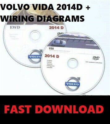 Volvo VIDA 2014D Main Dealer Diagnostic Software +  EWD Wiring Diagrams✔Download