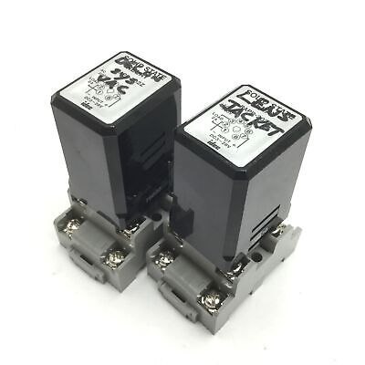 Lot of 2 Idec RAPP-202Z Solid State Relay, Input: 3-28VDC, Load: 200V 2A