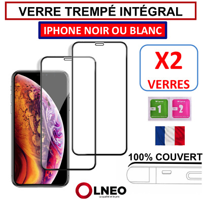 Verre Trempe Iphone Vitre Protection Integral 6 6S Plus 7 8 X Xr Xs Max 11 Pro