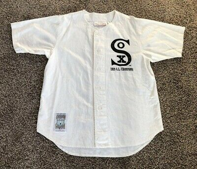 brand new 4be2c 824b7 1919 CHICAGO WHITE Sox Mens XL Jersey Cooperstown Collection ...