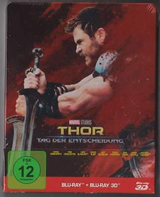 "Marvel's ""THOR - RAGNAROK"" - Superhero Cult Ltd 2D + 3D BLU RAY STEELBOOK"