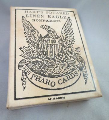 OLD WEST PHARO CARDS Poker Playing Repr 1870 1800s Saloon Armory Civil War Hart