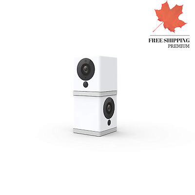 Wyze Cam 1080p HD Indoor Wireless Smart Home Camera with Night Vision 2-Way A...