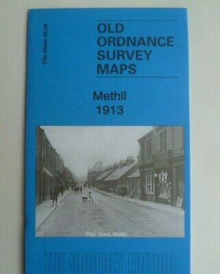OLD ORDNANCE SURVEY MAPS METHIL FIFE SCOTLAND 1913  Godfrey Edition New
