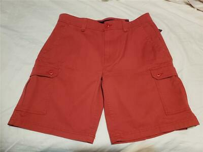St Johns Bay Mens Performance Comfort Stretch Cargo Shorts Sizes 36 40 Nwt