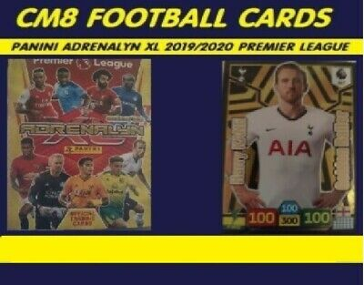 Premier League 2019/2020 Panini Adrenalyn XL Complete Album Binder + 7 LTD ED