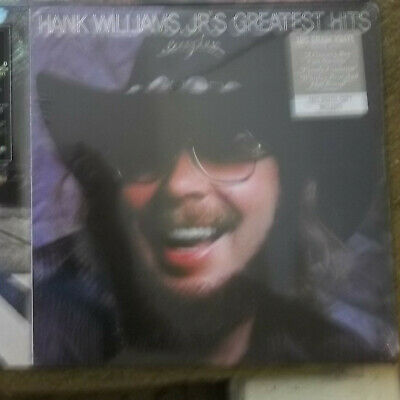 New Hank Williams Jr. Greatest Hits Vinyl Record Album Remastered 180g Sealed