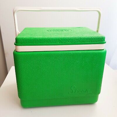 Willow Ice LUNCHBOX size, Caravan, Green, Esky, Vintage Retro cooler box