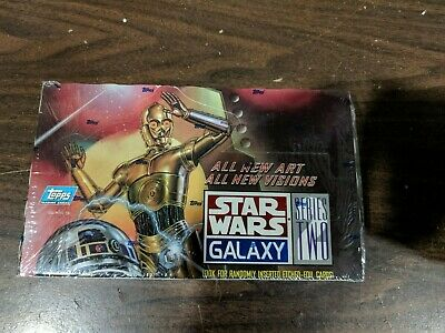 Topps 1994 Star Wars Galaxy Series 2 1 Trading Card Sealed Box