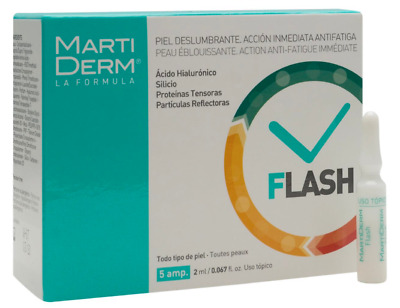 Martiderm Flash 5 amp | Anti-Fatigue Effect | Skin Moisturizer