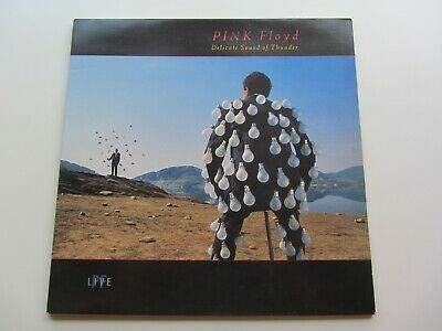 Pink Floyd   1988  U.k. Lp   Delicate Sound  Of Thunder    Excellent