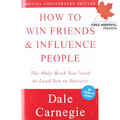 How to Win Friends and Influence People (Paperback) by Dale Carnegie New